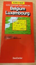 Belgium: Luxembourg: GeoCenter Map (M13)