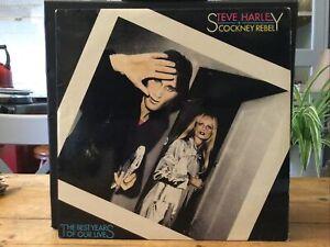 "12""LP VINYL. STEVE HARLEY & COCKNEY REBEL. THE BEST YEARS OF OUR LIVES. 1975."