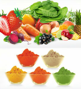 Dried Fruit & Vegetable Powders - Strawberry Cooking Shake Soup Smoothie ETC