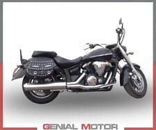 Pot D'echappement GPR inox Bomb Approuvé Yamaha XVS 1300 Midnight Star 2006 2014
