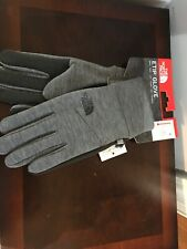 New ! The North Face Etip Unisex Gloves Size L Healther Gray