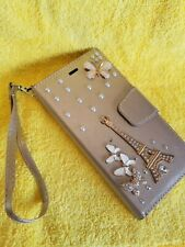 Bling Diamond Magnetic Wallet Leather Case Cover  for iPhone6/7/8/x/xr/max