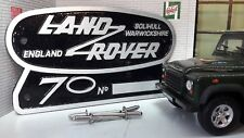 Land Rover Defender 90 110 70 Edición Limitada Aluminio Fundido REJILLA OEM
