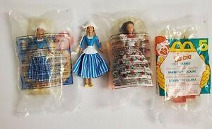 Mattel McDonald's Happy Meal Toy 4 1995 Barbie USA Mexican, Dutch + loose Dutch