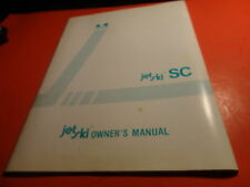 OEM FACTORY KAWASAKI OWNERS MANUAL 1995 JL650 SC A5 50 PAGES
