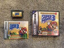 Super Mario Advance 4 Super Mario Bros 3 Game Boy Manual & DS Case w Art GBA