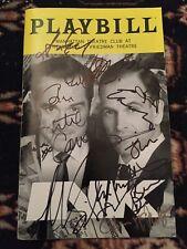 Original Broadway Complete Cast Signed Ink Playbill