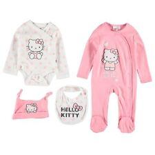 ** Hello Kitty ** Sanrio Starter Set 4 tlg. Strampler Body Lätzchen Mütze 74/80