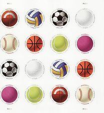 Have A Ball Stamp Sheet - Usa #5203-#5210 Forever 2017 Sports