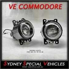 VE COMMODORE SS PROJECTOR STYLE FOG / DRIVING LIGHTS WITH ANGEL EYES HALO RINGS