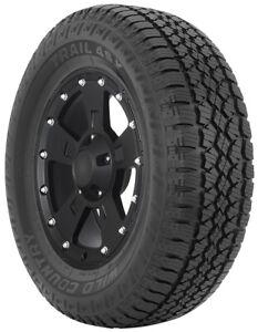 LT265/70R18 E 124/121R BLK Multi-Mile Wild Country Trail 4SX Tires