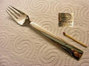 Georg Jensen 925er Sterling Silver - Blok / Acadia- Luncheon fork / Dessert fork