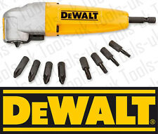DeWALT DT71517T 90 Degree Impact Dril Driver Angle Attachment Set / Kit