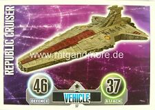 Star Wars Force Attax  Republic Cruiser #057