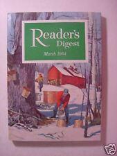 Reader's Digest March 1964 Alcoholism Allen Drury +++