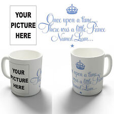 PERSONALISED LITTLE PRINCE PHOTO GIFT COFFEE MUG TEA CUP BIRTHDAY CHRISTENING