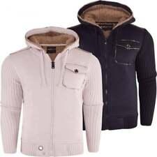 Mens Fleece Lined Cardigan In Mens Jumpers Cardigans Ebay
