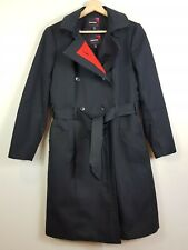 QANTAS By MARTIN GRANT Size AU 10 Flight Attendant Uniform Trench Coat RARE