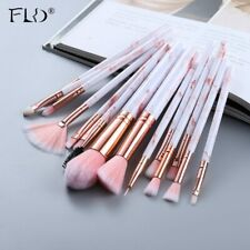 FLD5/15Pcs Makeup Brushes Tool Set Cosmetic Powder Eye Shadow Foundation Blush