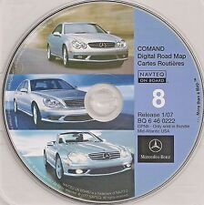 01 2002 2003 MERCEDES BENZ S S430 S500 S600 S55 NAVIGATION GPS 07 CD DE VA MD NJ