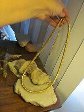"Vintage Gold tone Snake type Chain Belt  29""+3 1/2"""