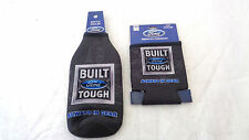 Ford Holder Drink Can and Bottle Cooler Koozie Set Black