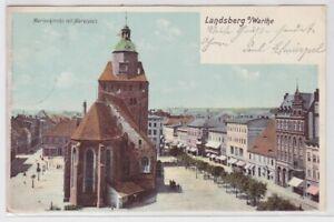35423 AK Landsberg a. Warthe (Gorzów Wielkopolski) - Marienkirche 1902