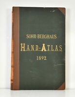 Karl Sohr: Sohr-Berghaus Hand-Atlas über alle Theile der Erde. (1892).