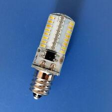 USA Shipping 10x E12 Candelabra C7 LED Bulb 64LED 3014 SMD Lamp Warm White/110V