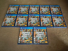 Grand Theft Auto V Five Sony PlayStation 4 PS4 Game BRAND NEW FACTORY SEALED!