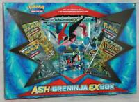 Pokemon Ash-Greninja EX Box Card Game Set