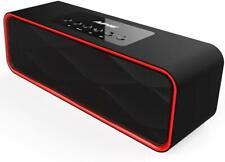 Wireless Bluetooth Speaker 10W Output, Enhanced Bass HI-FI Surround Stereo Sound
