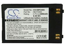 Replacement Battery For Samsung 3.7v 2400mAh Camera Battery