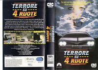 TERRORE SU 4 RUOTE (1990) VHS