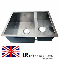 sinks kitchen sink stainless steel under mount single double 1.5 bowl butler