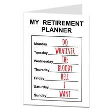 Funny Happy Retirement Retiring Card For Men & Women