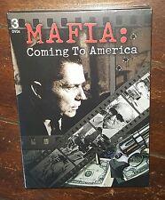 Mafia: Coming to America (3-DVD, 2011) Free Shipping!