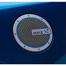 OEM 2009-2013 Subaru Forester Fuel Door Lid Cover Chrome Adhesive NEW J121CSC010