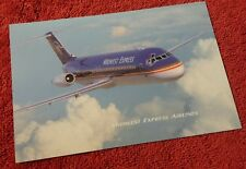 Midwest Express Airlines DC-9-30 late 90's Post Card