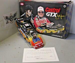 1998 John Force Castrol GTX Elvis 1/24 Action NHRA Diecast Autographed