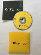 Microsoft Office for Mac 2011 Home and Student Word Excel Family Pack 3 Users