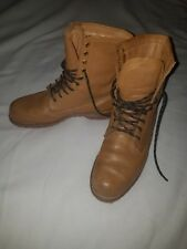 Quality Leather Ranger Tan Boot Size UK 12