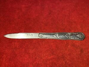 "ALVIN STERLING SILVER MAJESTIC FRUIT KNIFE 6/"" RARE"