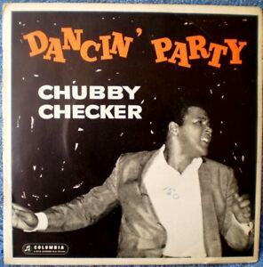 "CHUBBY CHECKER-DANCIN' PARTY/LIMBO ROCK/POPEYE ""RARE OZ"" EP 45 RPM"