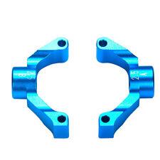 Tamiya TT-02 Aluminium Achsschenkel 2.5 Grad hinten blau 54549