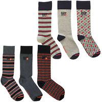 Superdry Mens Box of Socks 'Boxed City Sock Triple Pack'