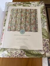 floral MARTHA Stewart HYDRANGEA Blossoms SHOWER CURTAIN Pink Blue Lilac  NEW