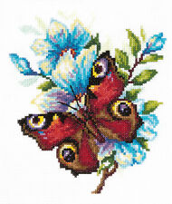Cross Stitch Kit Peacock eye (butterfly) art. 42-09