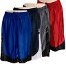 Men's Mesh Workout Shorts Two-toned Performance Gym Basketball Shorts (S-2XL)