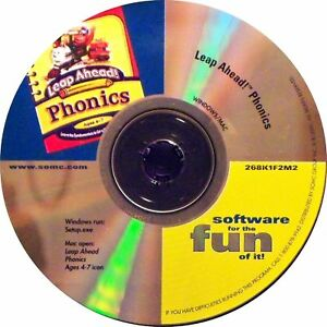 The Learning Company Leap Ahead! Phonics CD Rom Game for (Mac & Windows) 2000